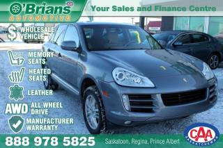Used 2009 Porsche Cayenne S - Wholesale Inventory w/Leather, AWD, Leather, for sale in Saskatoon, SK