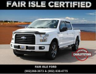 Used 2016 Ford F-150 4x4 Supercrew-157 for sale in Charlottetown, PE