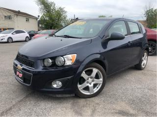 Used 2016 Chevrolet Sonic LT -  - Back Up Camera - Sunroof for sale in St Catharines, ON