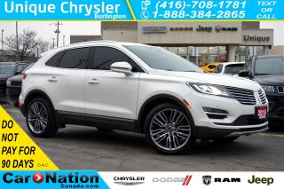 Used 2016 Lincoln MKC RESERVE| 2.3 ECOBOOST| AWD| TECHNOLOGY PKG & MORE for sale in Burlington, ON