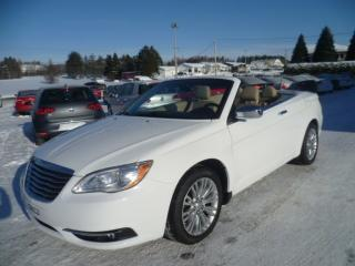 Used 2012 Chrysler 200 Limited Convertible for sale in East broughton, QC