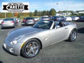 Used 2008 Pontiac Solstice CONVERTIBLE for sale in East broughton, QC
