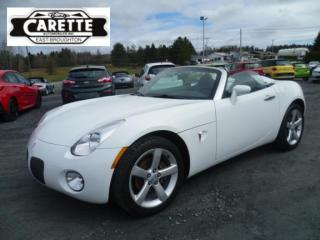 Used 2006 Pontiac Solstice CONVERTIBLE for sale in East broughton, QC