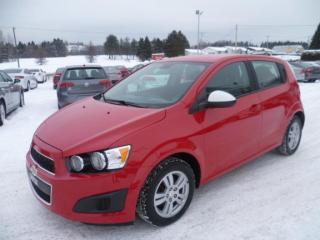 Used 2012 Chevrolet Sonic for sale in East broughton, QC