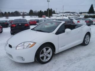 Used 2008 Mitsubishi Eclipse Spyder Convertible for sale in East broughton, QC