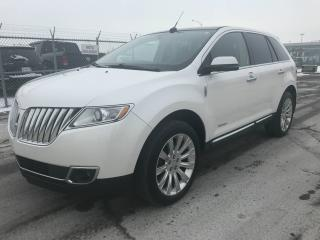 Used 2012 Lincoln MKX AWD + NAVI + TOIT + CAMÉRA + MAGS + CUIR for sale in Laval, QC