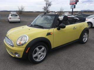 Used 2010 MINI Cooper CONVERTIBLE Convertible for sale in Carignan, QC