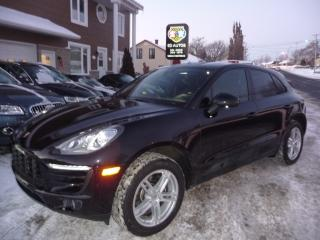 Used 2017 Porsche Macan Premium for sale in Ste-Marie, QC