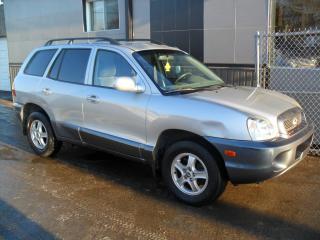 Used 2004 Hyundai Santa Fe VUS GL Automatique Bas Kilo AUBAINE for sale in Laval, QC