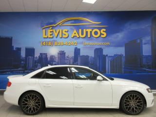 Used 2012 Audi A4 Quattro AWD for sale in Lévis, QC