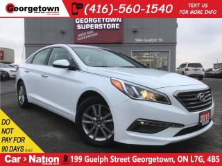 Used 2015 Hyundai Sonata GLS | BLIND SPOT IND | HTD SEAT/WHL | BACK UP CAM for sale in Georgetown, ON