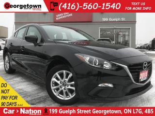 Used 2015 Mazda MAZDA3 Sport GS SKY-ACTIVE | | BU CAM | ONE OWNER for sale in Georgetown, ON