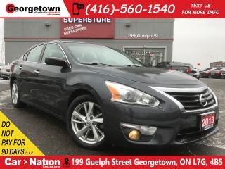 Used 2013 Nissan Altima 2.5 SV | TECH |NAVI |SUNROOF |BU CAM |HTD SEATS for sale in Georgetown, ON
