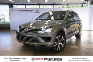 Used 2017 Volkswagen Touareg Wolfsburg Edition 3.6L 8sp at w/Tip 4M for sale in Vancouver, BC
