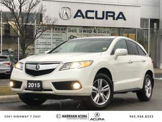 Used 2015 Acura RDX Tech at -Navi, Backup Cam, Pwr Trunk, Heated Sts for sale in Markham, ON