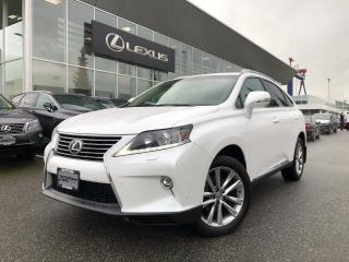 Used 2015 Lexus RX 350 6A Touring PKG, Local, NO Accidents for sale in North Vancouver, BC