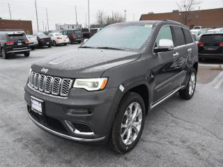New 2019 Jeep Grand Cherokee Summit NAVI/DUAL-PANE SUNROOF/AIR RIDE SUSPENSION for sale in Concord, ON