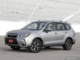 Used 2015 Subaru Forester 2.0XT Touring USED SALES TEAM NOW IN THE MAIN SHOWROOM for sale in Waterloo, ON
