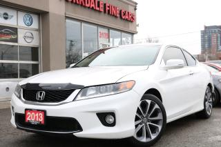 Used 2013 Honda Accord EX-L-NAVI V6 Navigation, Camera Leather, Roof for sale in Toronto, ON