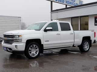 New 2018 Chevrolet Silverado 1500 High Country 5.3L, Full Feat Bkts, Sunroof, NAV, 20