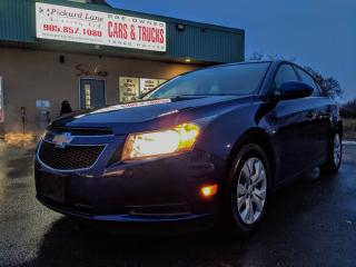 Used 2012 Chevrolet Cruze LT Turbo for sale in Bolton, ON