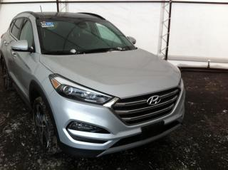 Used 2017 Hyundai Tucson DUAL PANE SUNROOF, LEATHER HEATED SEATS, REVERSE CAMERA, HANDSFREE CALLING for sale in Ottawa, ON