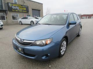 Used 2010 Subaru Impreza 2.5 i AWD  5 SPEED  CERTIFIED  ACCIDENT FRE for sale in Newmarket, ON