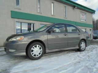 Used 2004 Toyota Corolla 4dr Sdn Sport Manual for sale in St-Jérôme, QC