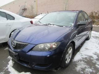 Used 2005 Mazda MAZDA3 GS for sale in Brampton, ON