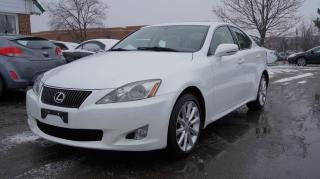 Used 2009 Lexus IS 250 PREMIUM PKG * AWD * NAVI * CAMERA * for sale in Woodbridge, ON