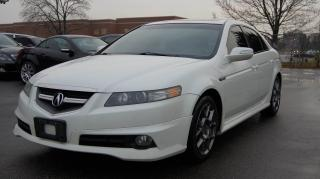Used 2008 Acura TL TYPE-S * 6 SPEED MANUAL * NAVI * LEATHER for sale in Woodbridge, ON