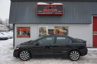 Used 2009 Honda Civic SI for sale in Lévis, QC