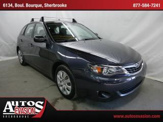 Used 2009 Subaru Impreza 2.5 I Traction for sale in Sherbrooke, QC