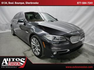 Used 2014 BMW 535 Xdrive + Mags 19 + Gps for sale in Sherbrooke, QC