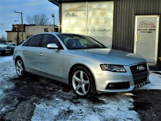 Used 2011 Audi A4 ***PREMIUM,CUIR,TOIT OUVRANT*** for sale in Longueuil, QC