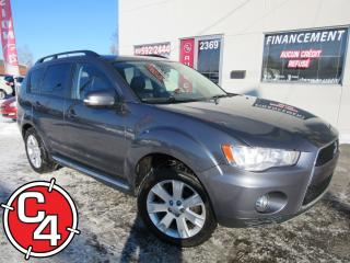 Used 2012 Mitsubishi Outlander Xls/gt S-Awc 7pass for sale in St-Jérôme, QC