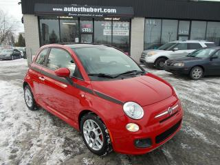 Used 2012 Fiat 500 SPORT **TOIT OUVRANT** for sale in St-Hubert, QC