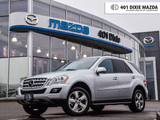 Used 2009 Mercedes-Benz ML 350 Base, ONE OWNER, FINANCE AVAILABLE for sale in Mississauga, ON