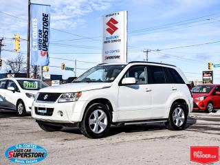 Used 2009 Suzuki Grand Vitara JLX-L 4x4 ~Heated Leather ~Power Moonroof for sale in Barrie, ON
