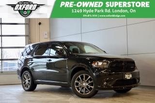 Used 2018 Dodge Durango GT - AWD, clean, low kms, paddle shifters for sale in London, ON