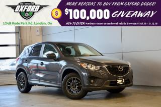 Used 2014 Mazda CX-5 GS - one owner, super low kms, back up cam for sale in London, ON
