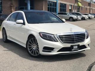 Used 2014 Mercedes-Benz S-Class 4dr Sdn S550 4MATIC LWB for sale in Barrie, ON