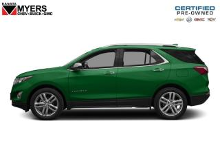 Used 2018 Chevrolet Equinox Premier Little More Unique Colour IVY Metallic for sale in Ottawa, ON