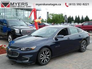 Used 2018 Chevrolet Malibu LT  A nicely-appointed car with a roomy interior for sale in Ottawa, ON