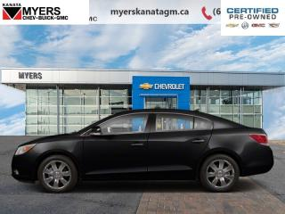Used 2012 Buick LaCrosse W/1SH  A Luxury Sedan With a Plush Interior. for sale in Ottawa, ON