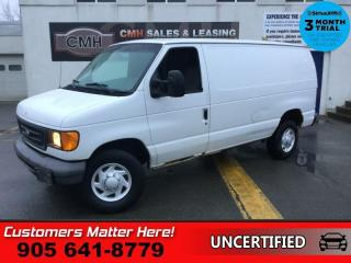 Used 2007 Ford Econoline Cargo Van Commercial  E-350 SUPER DUTY COMMERCIAL,  AS TRADED for sale in St. Catharines, ON