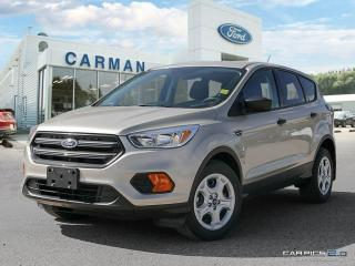 New 2017 Ford Escape S for sale in Carman, MB