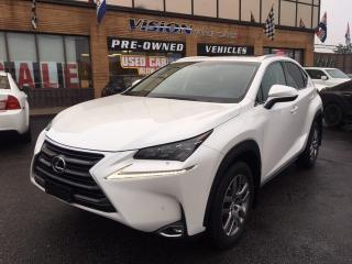 Used 2016 Lexus NX 200t LUXURY PACKAGE/ NAVIGATION for sale in North York, ON
