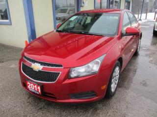 Used 2011 Chevrolet Cruze GAS SAVING 1-LT MODEL 5 PASSENGER 1.4L - TURBO.. CD/AUX INPUT.. KEYLESS ENTRY.. for sale in Bradford, ON