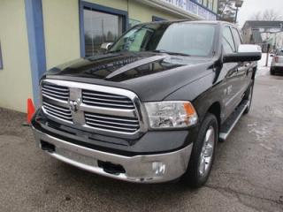 Used 2013 Dodge Ram 1500 WORK READY BIG HORN MODEL 5 PASSENGER 5.7L - HEMI.. 4X4.. QUAD.. SHORTY.. TRAILER BRAKE.. BLUETOOTH.. TOUCH SCREEN.. for sale in Bradford, ON